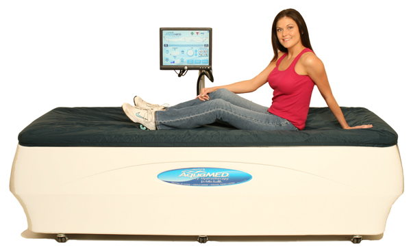 AquaMED Massage Beds for Dry Hydrotherapy